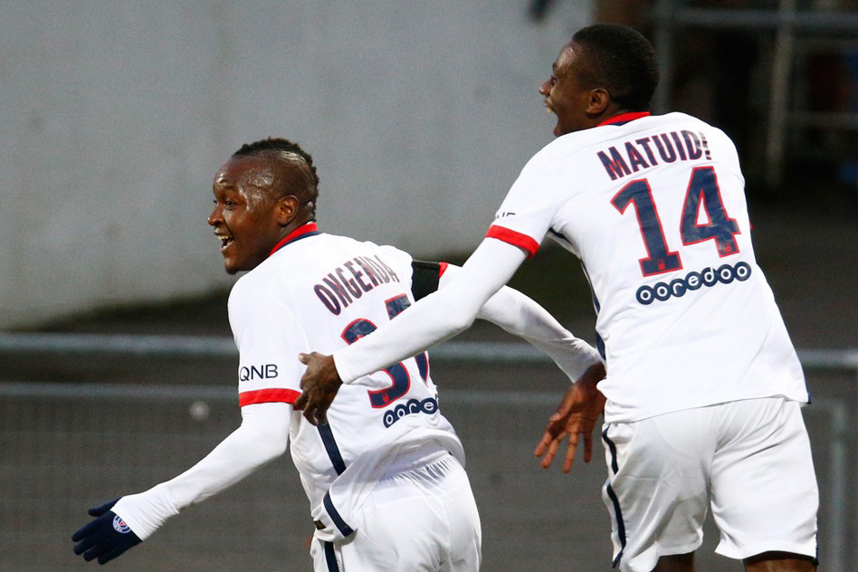 Hervin Ongenda and Blaise Matuidi