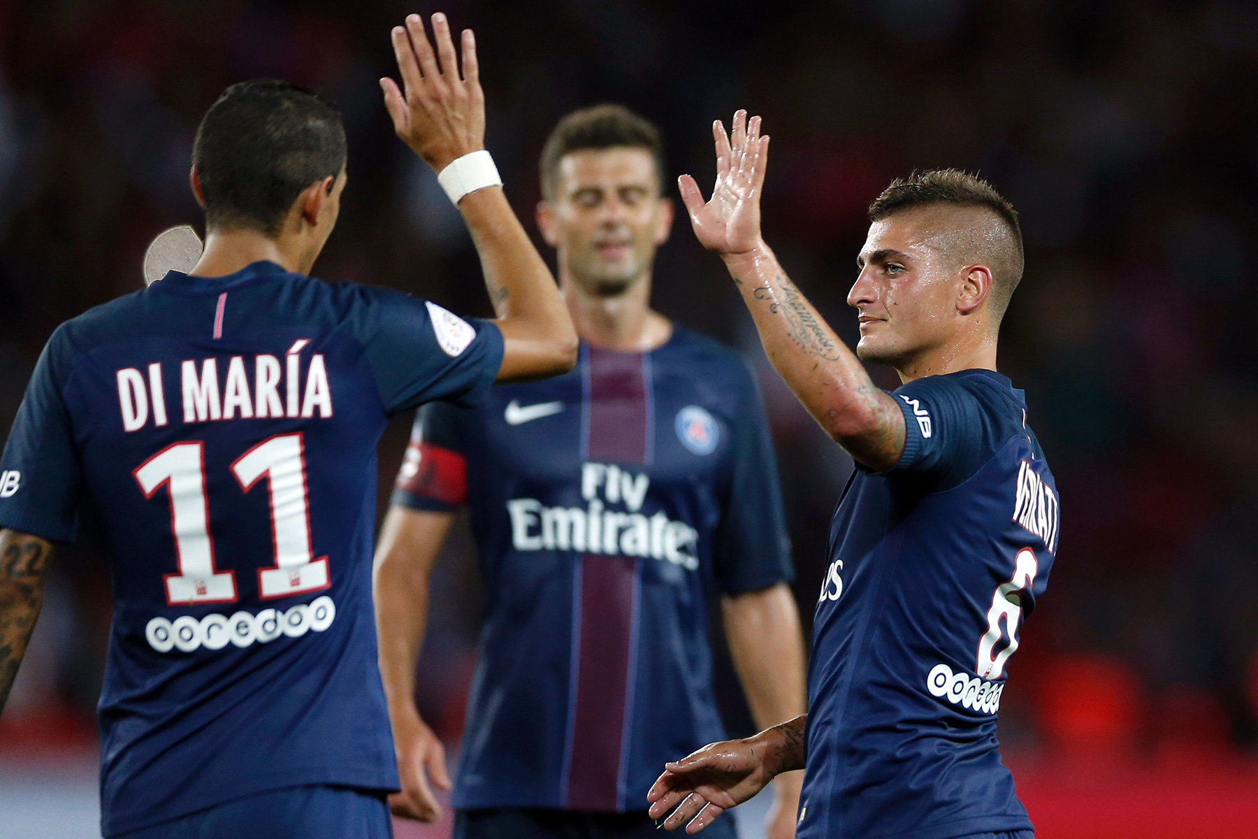PSG: Player Ratings: PSG Cruise Past Metz In Home Opener