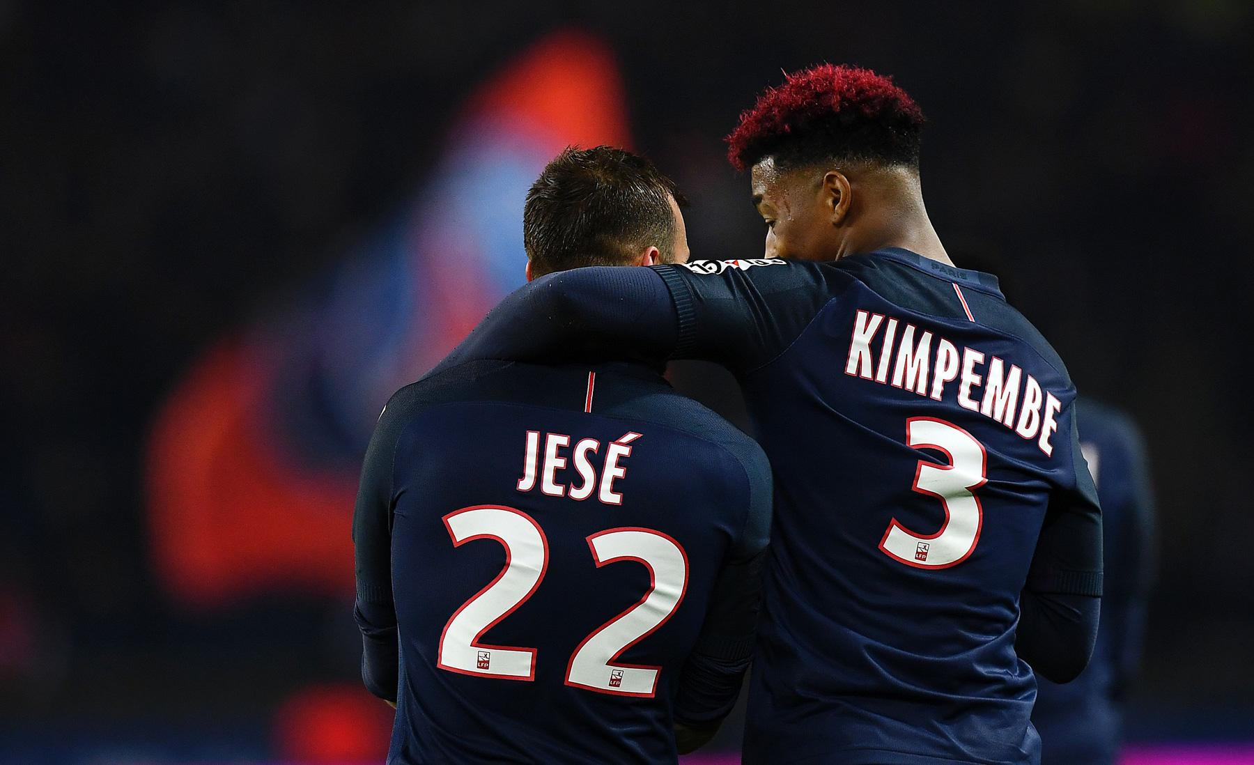 Jese and Presnel Kimpembe