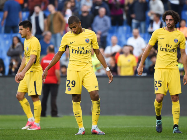 Mbappe, Berchiche and Rabiot