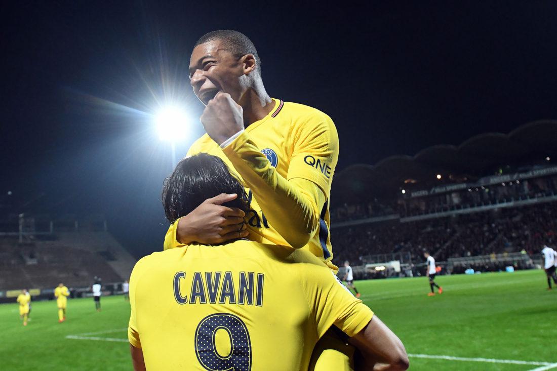 Mbappe and Cavani