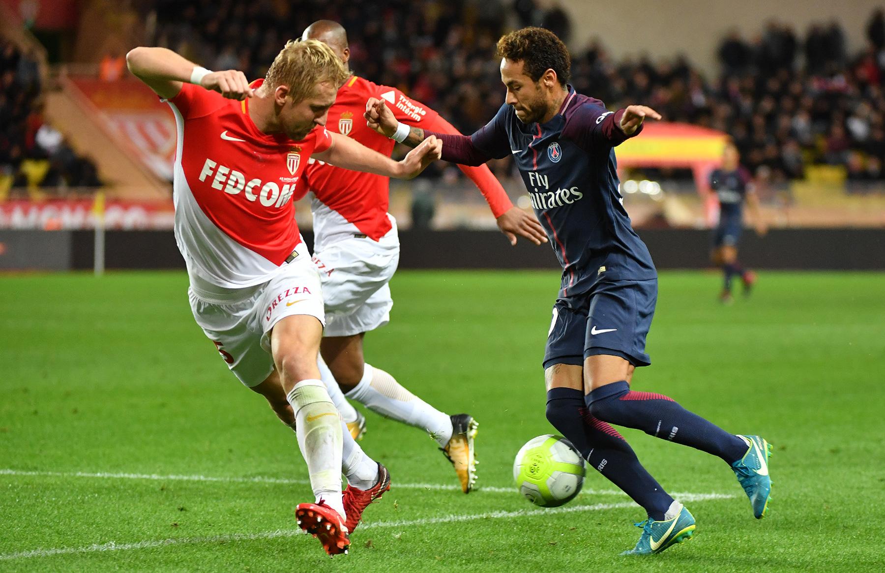 PSG and Monaco Thriller Ends in a Draw - PSG Talk  |Monaco ... Psg