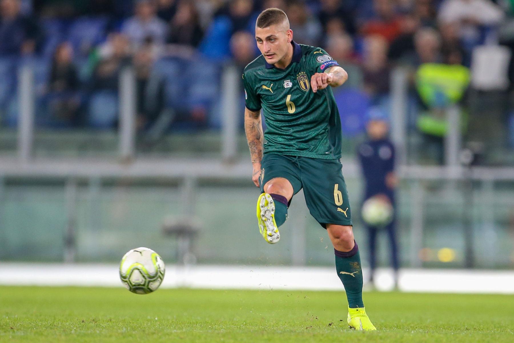 Roberto Mancini ผู้จัดการทีมชาติอิตาลียังคงมีความหวังที่จะมี Marco Verratti สำหรับการแข่งขันชิงแชมป์ยุโรป