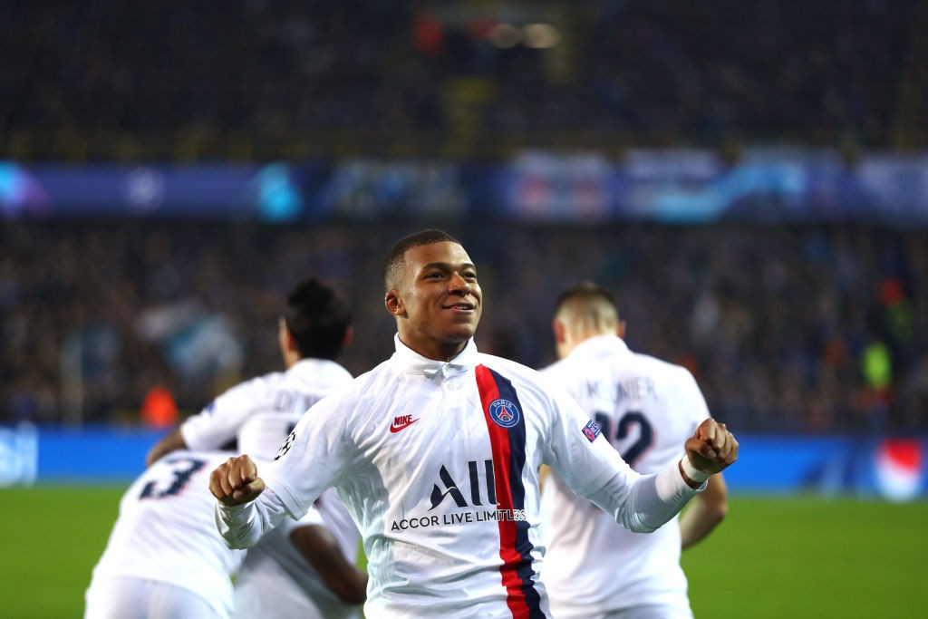 Match In Photos Paris Victorious Over Club Brugge PSG Talk