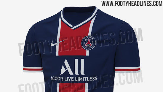 Report Psg S 2020 21 Home Kit Will Feature A Retro Look Psg Talk
