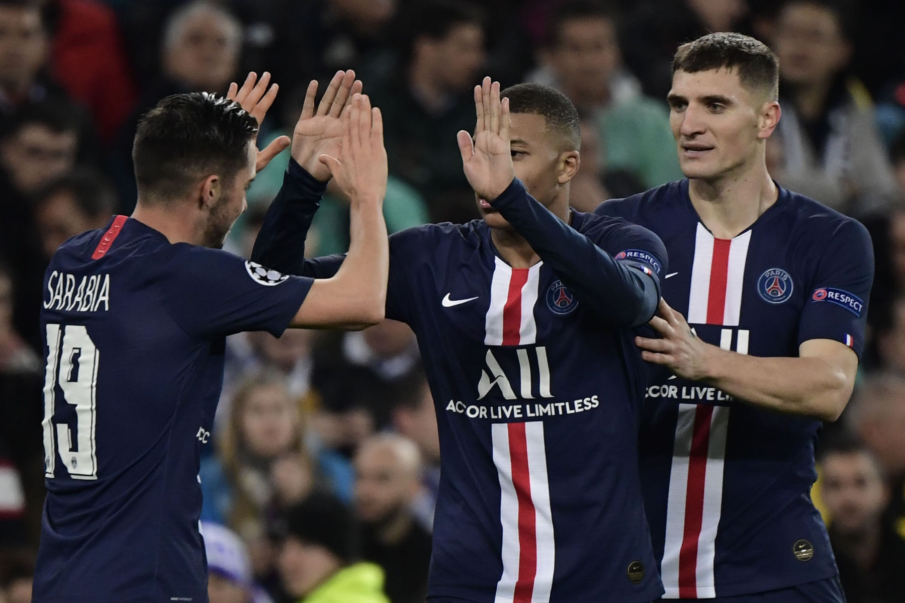 Video Sarabia Scores For Psg As Real Madrid Blow A 2 0 Lead Psg