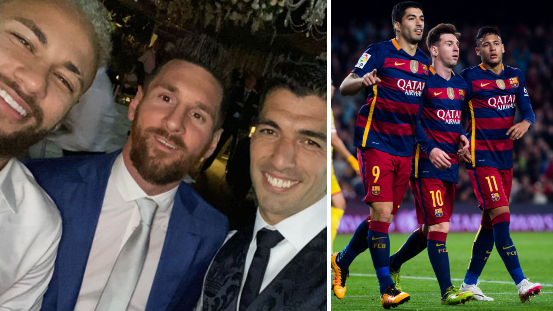 Neymar Messi And Suarez Pictured Together Why Psg Fans Shouldn