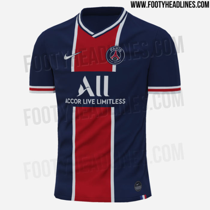 New Photo Reveals Special Detail To Psg S 2020 21 Home Kit Psg Talk