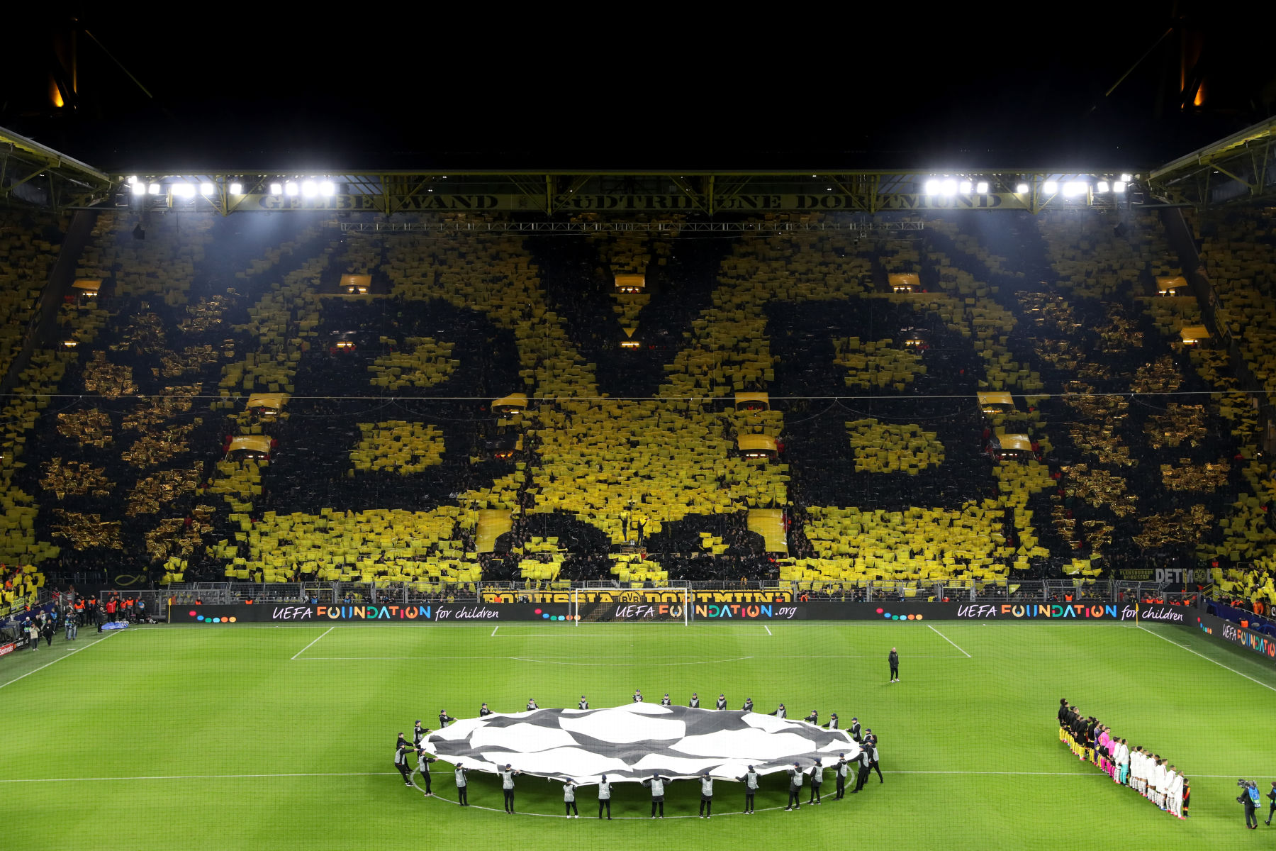 Video: A PSG Fan's View of Dortmund's Notorious Yellow ...