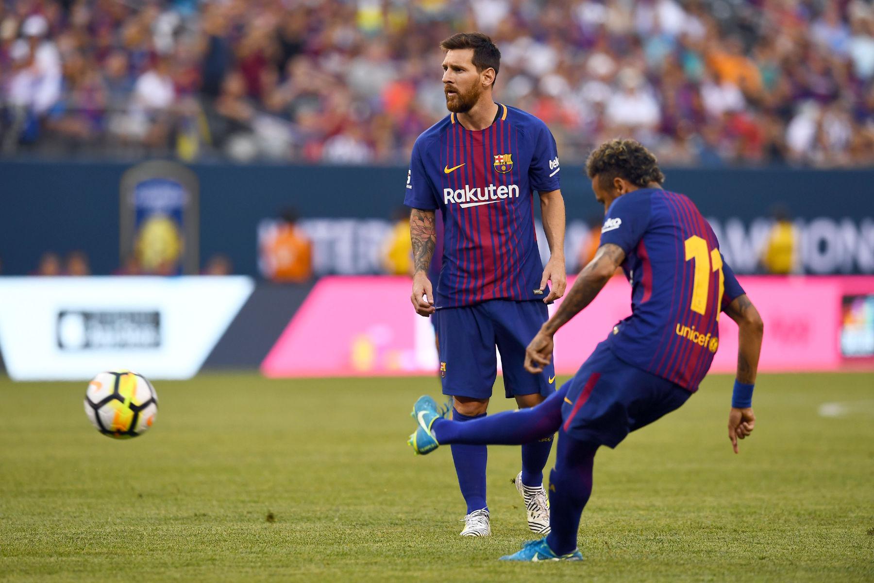 Lionel Messi และ Neymar