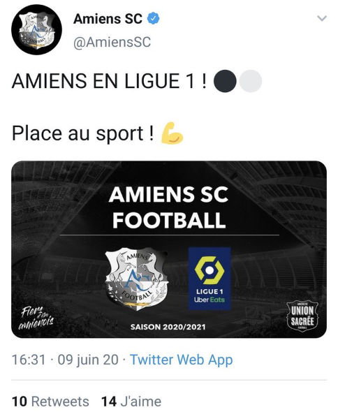 Amiens Leaked The New Ligue 1 Logo And It S Stunning Psg Talk