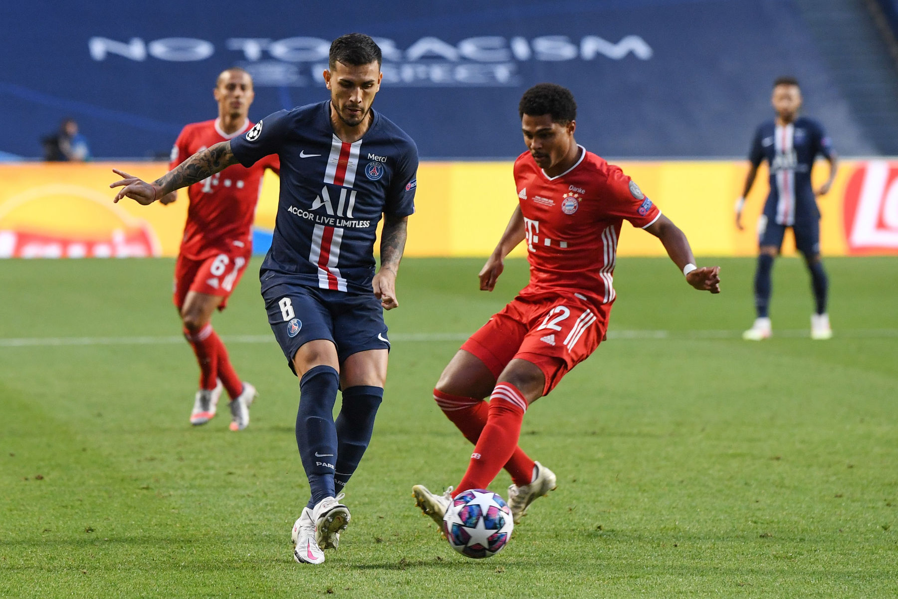 Video This Incredible Pass From Paredes To Mbappe Nearly Led To Psg S First Goal Against Bayern Psg Talk