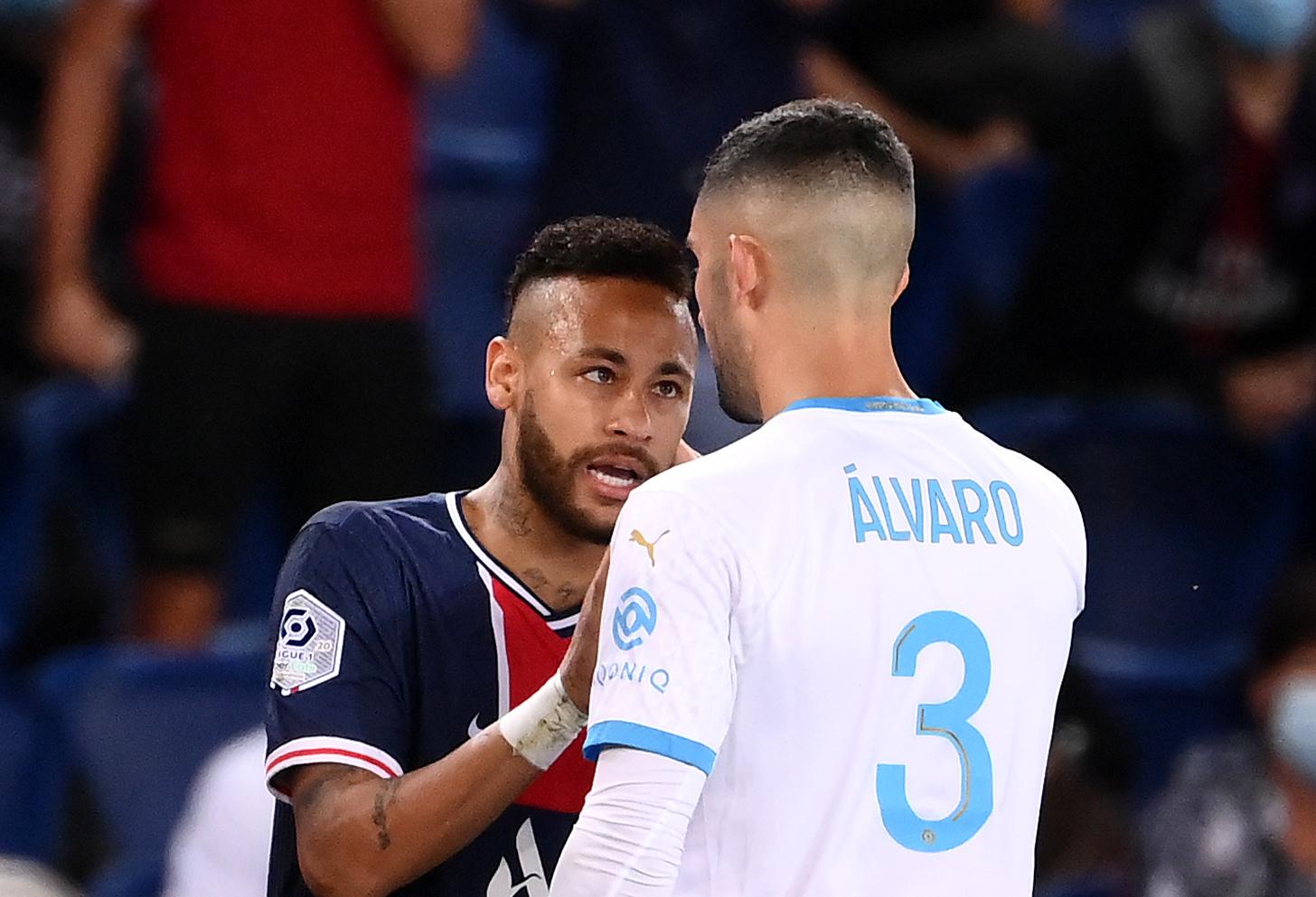 Video: Different Angle of the Confrontation Between Neymar and Álvaro  González - PSG Talk
