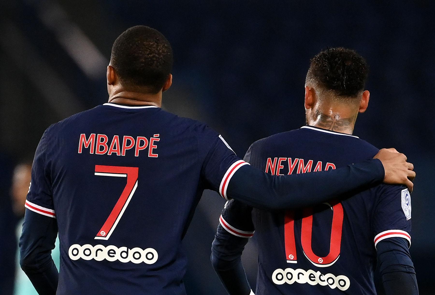 Kylian Mbappe และ Neymar