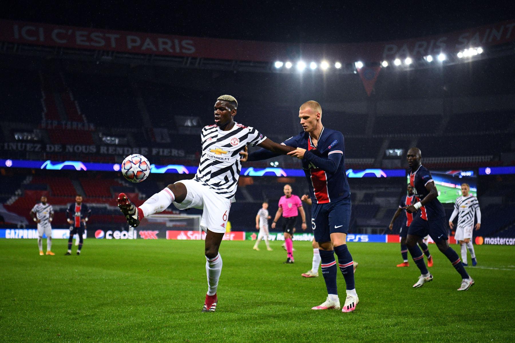 เปแอสเช มีส่วนร่วมในการพูดคุยกับ Paul Pogba ของ Man United