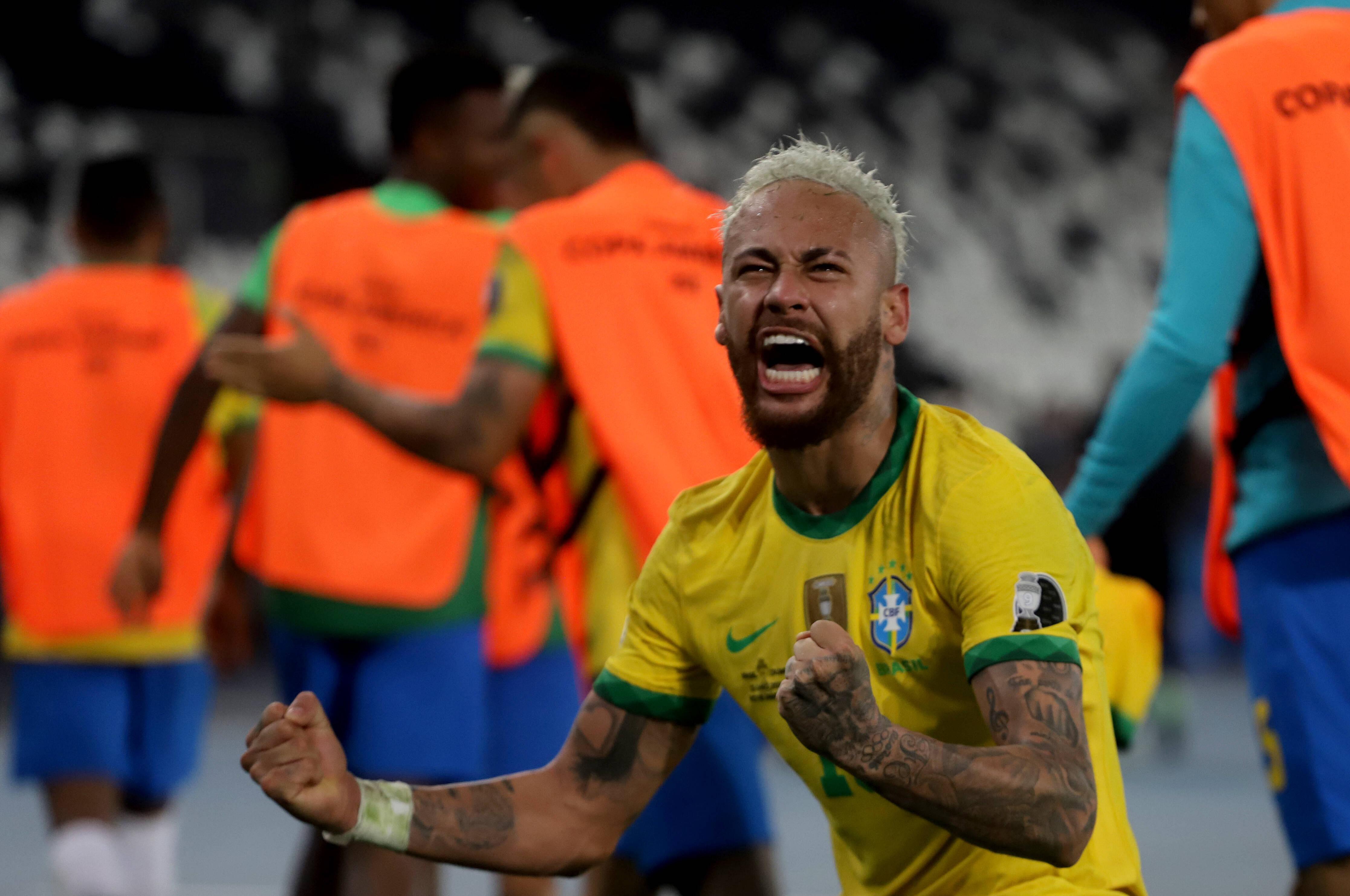 วิดีโอ: Neymar & Miguel Borja เถียงกันหลังบราซิลชนะโคลอมเบีย